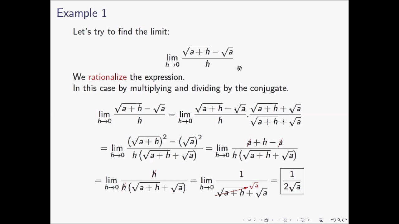 Solving Limits: Intuition and Examples of All Types of Limits