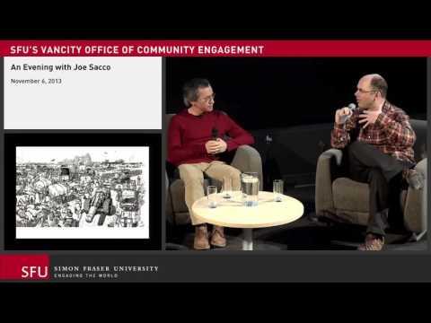 Joe Sacco, Comic Journalist Artist Talk