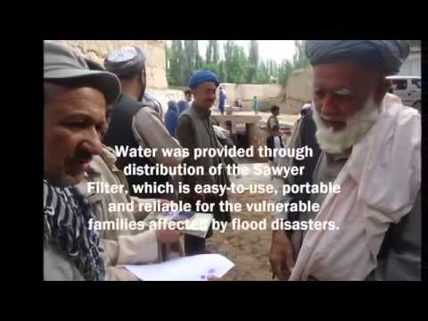OH Trading  Sawyer PointONE Water Filter use in Afghanistan Flood Relief
