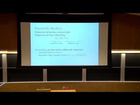 EC'17: Communication Requirements And Informative Signaling In Matching Markets
