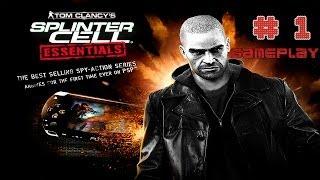 Splinter Cell: Essentials - PSP - Gameplay - La Historia de Sam Fisher - Parte # 1