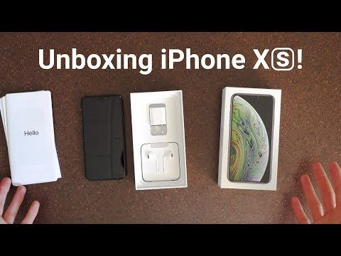unboxing-iphone-xs---what's-included!
