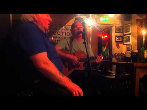The Ballad of Anne Frank by Martin Walsh in the Celt Bar Dublin