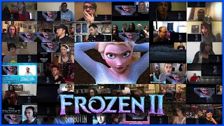 FROZEN 2 Teaser Trailer | Reactions Mashup (50+ Reactions) | Frozen 2 Elsa