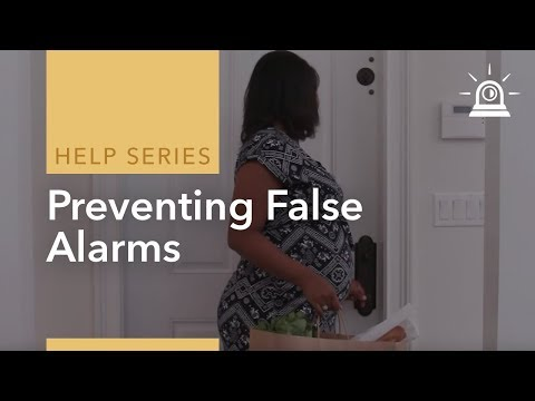 Preventing False Alarms When Using ADT Home Security