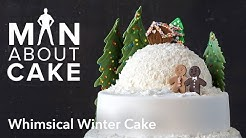 (man about) Whimsical Winter Cake | Man About Cake