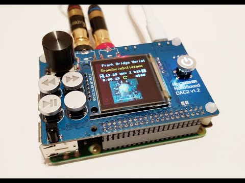 NanoSound DAC 2 Assembly Demo - Raspberry Pi DAC