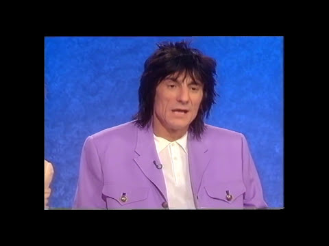 Rod Stewart Interview  with Ronnie Wood Bob Hoskins Robbie Coltrane  Aspel 1993