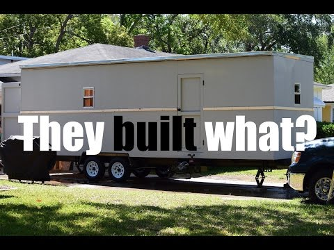 DIY Trailer Shed for our Off Grid Homestead! Ep. 07