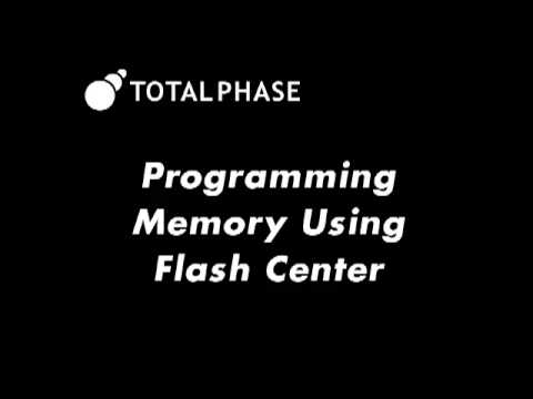 Programming Flash Memory Using a USB to SPI Programmer