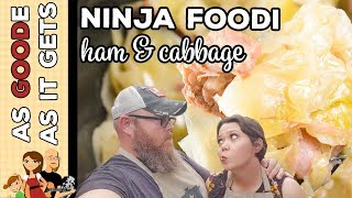 Ninja Foodi : Electric Pressure Cooker Ham &amp Cabbage (Low Carb)