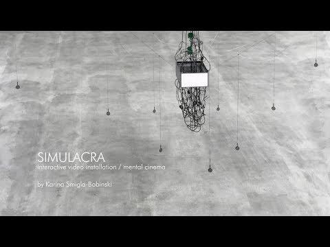 SIMULACRA - interactive video installation / mental cinema