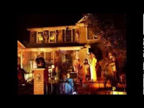 part one epic halloween decorated houses and house decorating ideas - Halloween Decorated House
