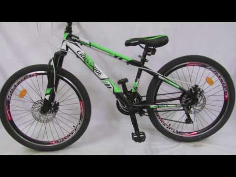 Crossride Flash R24 подростковый горный велосипед  Обзор , цена