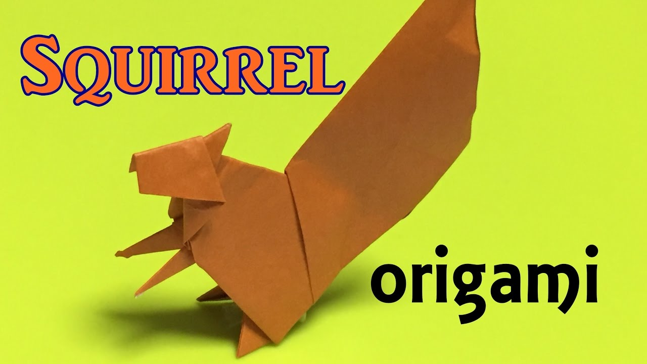 How to make a paper squirrel origami squirrel tutorial only one how to make a paper squirrel origami squirrel tutorial only one paper jeuxipadfo Choice Image