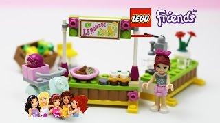 ✿ Lego Friends (41027) Mia's Lemonade Stand Playset Unpacking Building ✿