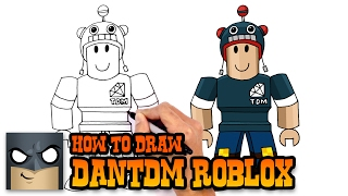 How to Draw DanTDM | Roblox