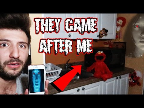 (SHE SENT THEM AFTER ME) DONT LET SIRI TALK TO TOYS AT 3 AM   ELMO FREDDY FAZBEAR & RONALD MOVED!
