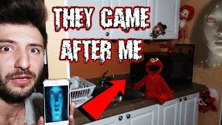 (SHE SENT THEM AFTER ME) DONT LET SIRI TALK TO TOYS AT 3 AM | ELMO FREDDY FAZBEAR & RONALD MOVED! thumbnail
