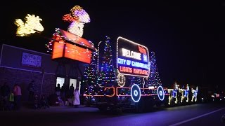 A video montage of the annual Carbondale, Illinois Lights Fantastic...