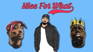 Drake & 2Pac - Nice For What (Remix ft. Notorious B.I.G)