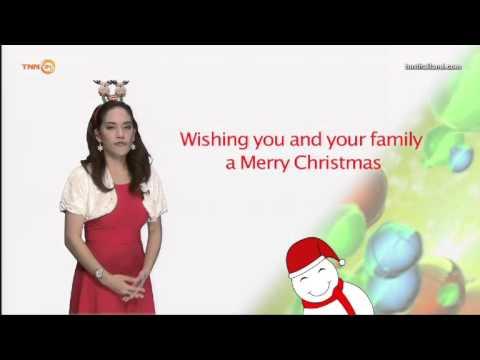 คำอวยพรคริสต์มาส ภาษาอังกฤษ // Daily English ใครๆก็พูดได้