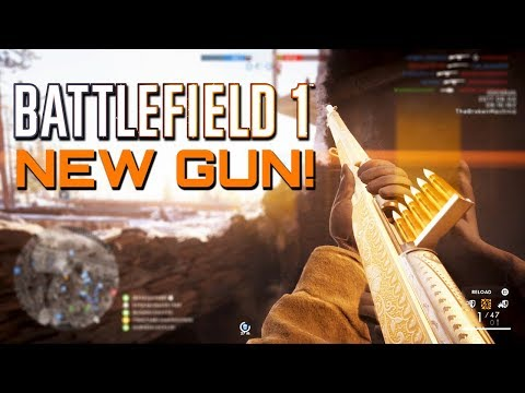 Battlefield 1: The New General Liu Rifle! In The Name of the Tsar DLC CTE (PS4 PRO Gameplay)