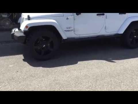 Jeep With Rockstar 2 Wheels Federal Mud Tires @Limitlesstire