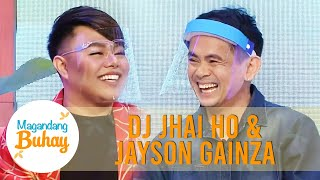 DJ Jhai Ho and Jason Gainza express their gratefulness | Magandang Buhay