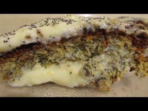 Маковый торт.Сочный,  легкий и очень вкусный торт с маком. Haşhaşlı pasta nasıl yapılır.
