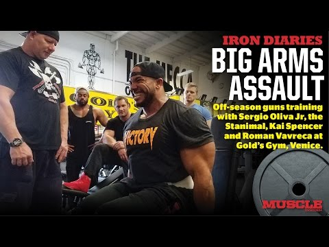 Arm Assault with the next generation of IFBB Superstars