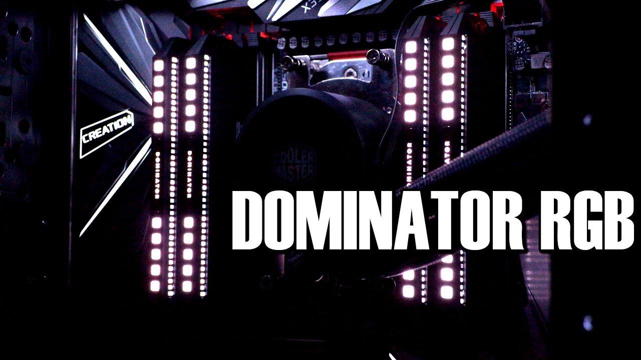 Corsair Dominator Platinum RGB Series DDR4 Memory