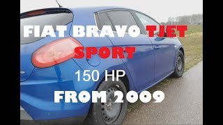 Скачать Fiat Bravo Tjet Sport 150HP 2009 Owners Review