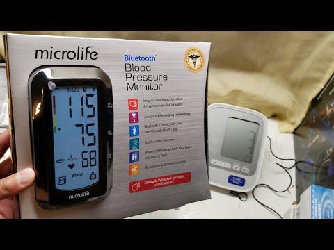 costco!-microlife-blood-pressure-monitor-(bluetooth)-$42---unboxing-vs-omron-blood-pressure-monitor