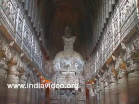 Caves 21 to 24 at Ajanta in Maharashtra