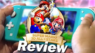 Super Mario 3D All-Stars Review (Nintendo Switch) (Video Game Video Review)