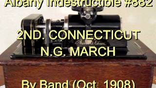 882 - 2ND. CONNECTICUT N.G. MARCH, by Band (Oct. 1908)