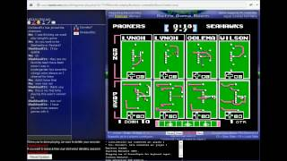 Tecmo Super Bowl 2015 (tecmobowl.org hack) - Tecmo Super Bowl 2015 Netplay -Green Bay Packers vs Seattle Seahawks- Davideo7 vs lilwildwolf212 1/2 - User video