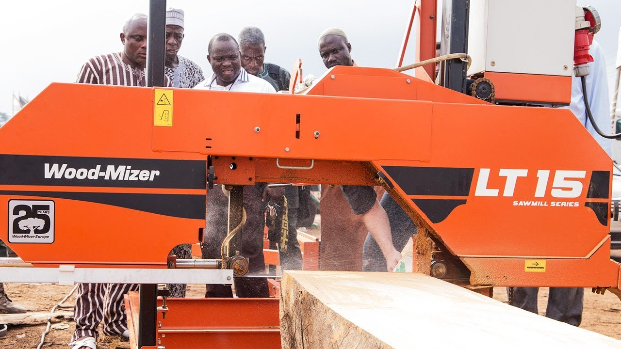 Nigeria Sawmillers find profitability with Wood-Mizer Sawmills