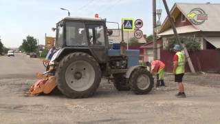 Ремонт дороги в п. Семеновка Республика Марий Эл