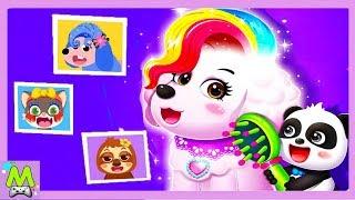 Салон Красоты для Животных Малыша Панды.Лучшие Прически Друзей.Игра как Мультик