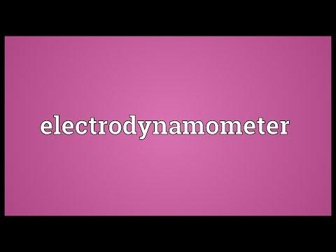 Header of electrodynamometer