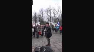 Bedroom Tax Song live on Glasgow Green with Citizen Smart, Subtitles and Guitar Chords