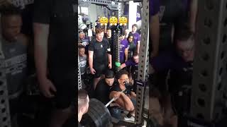 THIS 495 LB FRONT SQUAT FROM 2019 IS HYPE! 🔥😳🔥