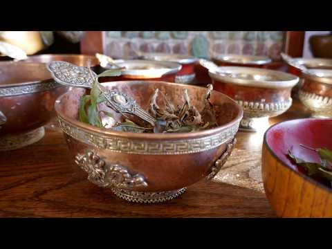 Himalayan Tea time ritual Collection - Antique Tibetan Bowls and pots