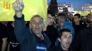 Греки на митинге : Путин № 1