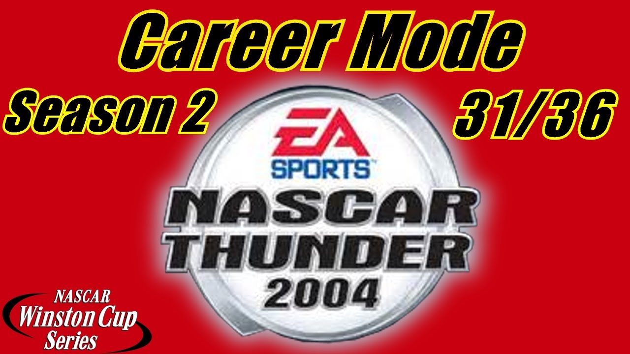good pit stop but nascar thunder career mode at lowe s nascar thunder 2004 career mode at lowe s season 2 race 31 36