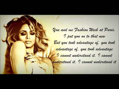 Ciara - I Bet Lyrics HD