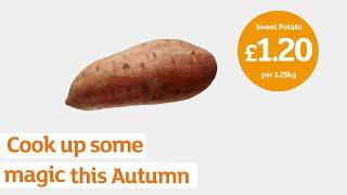 Cook up some magic this autumn | Sainsbury's | Sweet Potato & Chorizo Salad