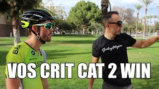 Valley of the Sun Crit race VLOG #27